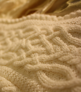 Ravelry Elegant Cable Scarf Pattern By Yi Wen Qian