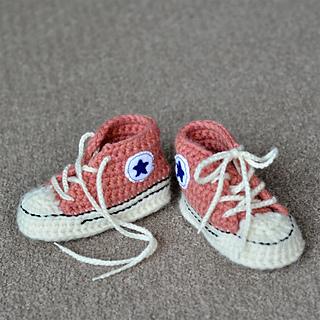 Ravelry Yoshimits Crochet Baby Converse