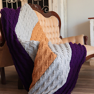 Yours Magazine Knitting Patterns : Ravelry: Zensation knitted blanket pattern by Your Family magazine