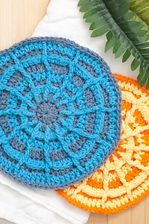 Wagon Wheel Potholder Pattern By Alex From You Should Craft Ravelry