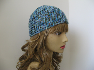 a3130c30453 Ravelry  Quick and Easy Basic Beanie pattern by Yolanda Soto-Lopez
