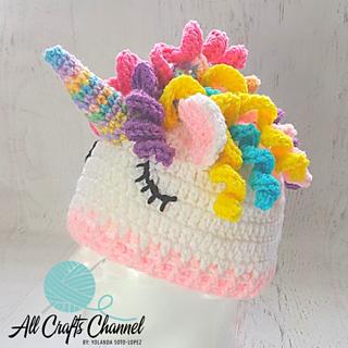Ravelry  Unicorn Hat pattern by Yolanda Soto-Lopez dec8b4d3cb3
