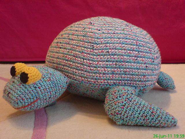 Free Amigurumi Dog Patterns : Ravelry: turtle pillow pattern by sonea delvon