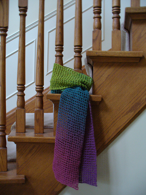 Ravelry Tunisian Mesh Scarf Pattern By Beth Graham