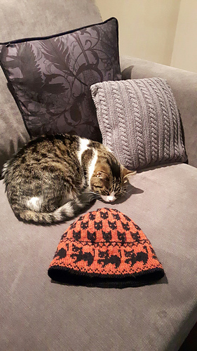 ed11bd73345ff2 Ravelry: Witch cats hat pattern by Christine de Savoie